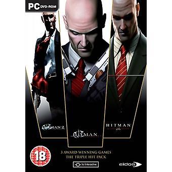 Hitman Triple Pack (PC DVD) - Usine scellée