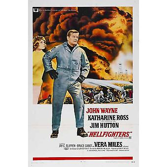 Hellfighters Movie Poster (11 x 17)