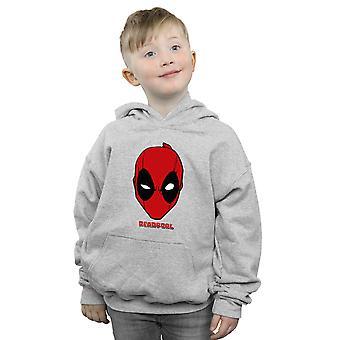 Marvel Boys Deadpool Mask Hoodie