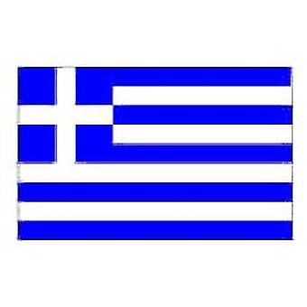 Græsk Flag 5 ft x 3 ft med øjer til ophæng