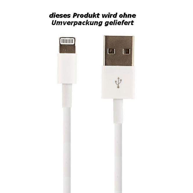 Original Bulk Apple MD818ZM/A Lightning Ladekabel, iPhone 5 / 5s / SE, 2x Matt Displayschutzfolie