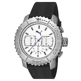 PUMA reloj pulsera reloj hombres reloj cronógrafo silicona Gallardo PU103561002