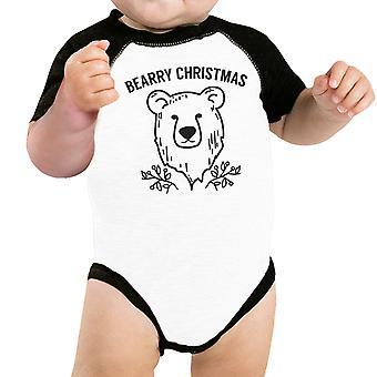 Bearry Kerstmis Bear witte Pet Shirt voor kleine huisdier vakantie Outfit