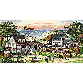 Gold Collection Cozy Cove Counted Cross Stitch Kit-18