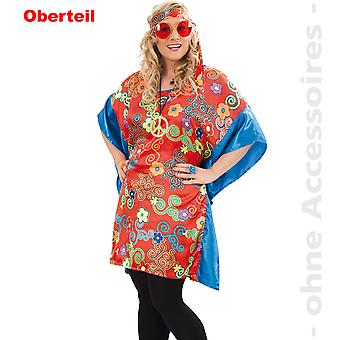 Hippy Lady costume 60s hippie tunic women's costume