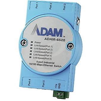 Przełącznik LAN Advantech ADAM-6520 nr Liczba wyjść: 5 x 12 Vdc, 24 Vdc