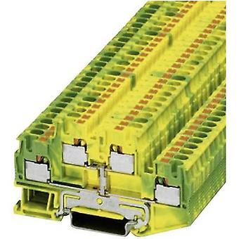 Phoenix kontakt 3211854 PTTB 4-PE grønn-gul