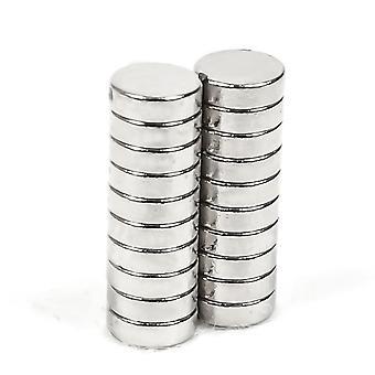 Neodym Magnet 6 x 2 mm Scheibe N35 - 25 Stück