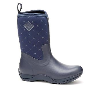 Muck Boots Arctic Weekend Navy Quilted Wellington Boots