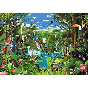 Magnificent Rainforest Poster Print by Gerald Newton