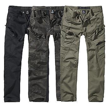 Brandit мужчины грузовые штаны slim fit приключ