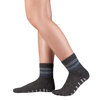 Knitido ABS House socks home Merino cashmere, seamless toe socks without elastic