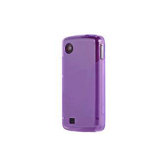 OEM Verizon LG Chocolate Touch VX8575 High Gloss Silicone Case - Purple (Bulk Pa