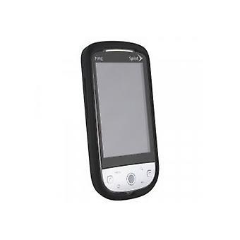 WirelessXGroup Silicon Sleeve for HTC Hero (Black)