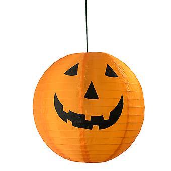 TRIXES LED lys streng af 6 græskar Jack O lanterner - varm hvid - kulørte lamper Halloween dekoration