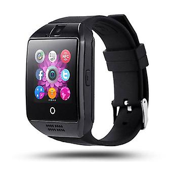 Stuff Certified ® Q18 original SmartWatch HD Curved OLED Smartphone Watch iOS Android Black