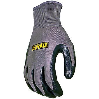 Dewalt Mens DeWalt Nitrile Secure Breathable Gripper Gloves