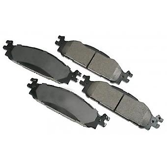 Akebono Performance ASP1508 Akebono Performance Ultra-Premium Brake Pads specifically engineered for fleet law enforceme