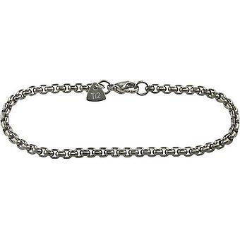 Ti2 титана Венецианской Inka браслет - серебро