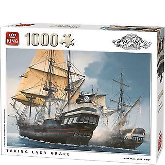 King puzzel 1000 st. taking Grace 5619