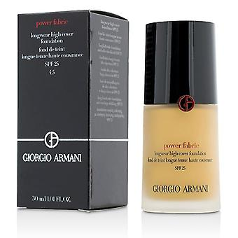 Giorgio Armani Power Fabric Longwear hög täckmantel Foundation SPF 25-# 4,5 (ljus gyllene)-30ml/1oz