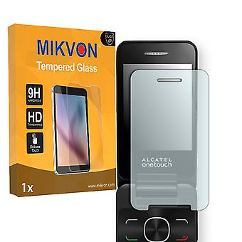 Alcatel OneTouch 20.12D Screen Protector - Mikvon flexible Tempered Glass 9H (Retail Package with accessories)