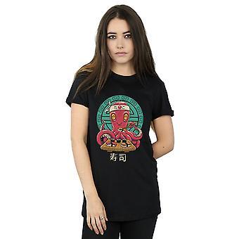 Vincent Trinidad kvinners Octo Sushi kjæreste passer t-skjorte