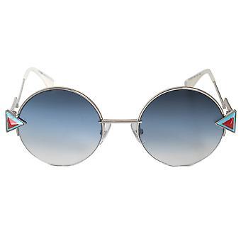 Fendi Rainbow Round Sunglasses FF0243S SCB NE 51