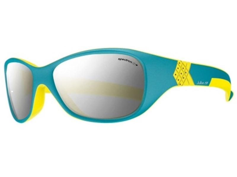 Julbo Solan Junior Sunglasses (Blue/Yellow Frame Spectron 3+ Grey Lens)