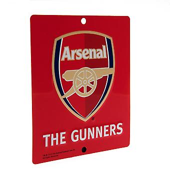 Arsenal FC Official SQ Window Sign