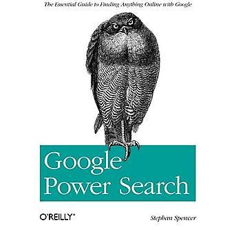 Puissance de Google recherche