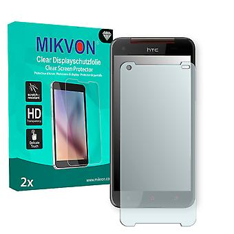 HTC DLX PLUS Screen Protector - Mikvon Clear (Retail Package with accessories)