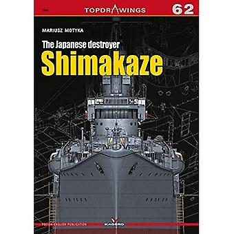 The Japanese Destroyer Shimakaze (Top Drawings)