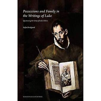 Ägodelar och familj i skrifter av Luke: förhör enigheten i Lukes etik