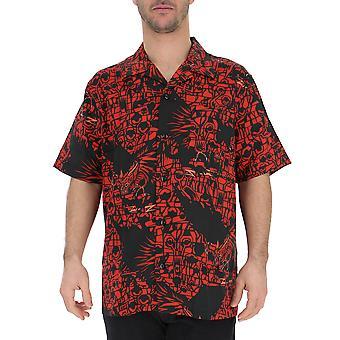 Givenchy sort/rød bomuld Shirt