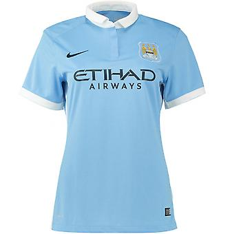 2015-2016 Man City Home Nike Damen-Shirt