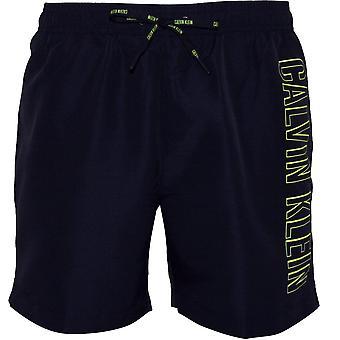 Calvin Klein Intense Power Side Logo Swim Shorts, Navy
