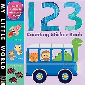 123 Counting Sticker Book by Jonathan Litton - Fhiona Galloway - 9781