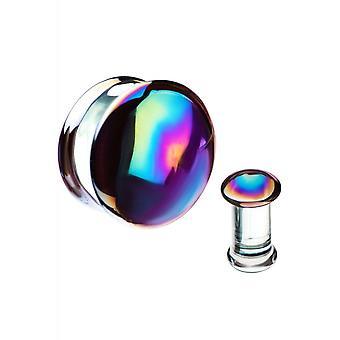 Body Vibe Oil Slick Glass Plugs