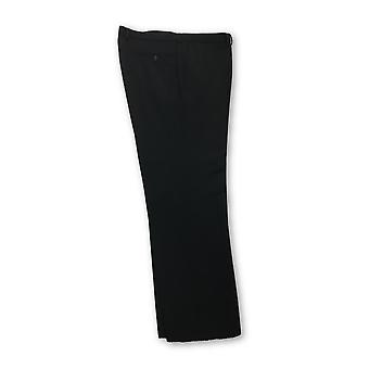 HUGO BOSS trousers in black twill