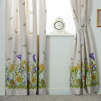 Belledorm Bluebell Meadow Lined Curtains