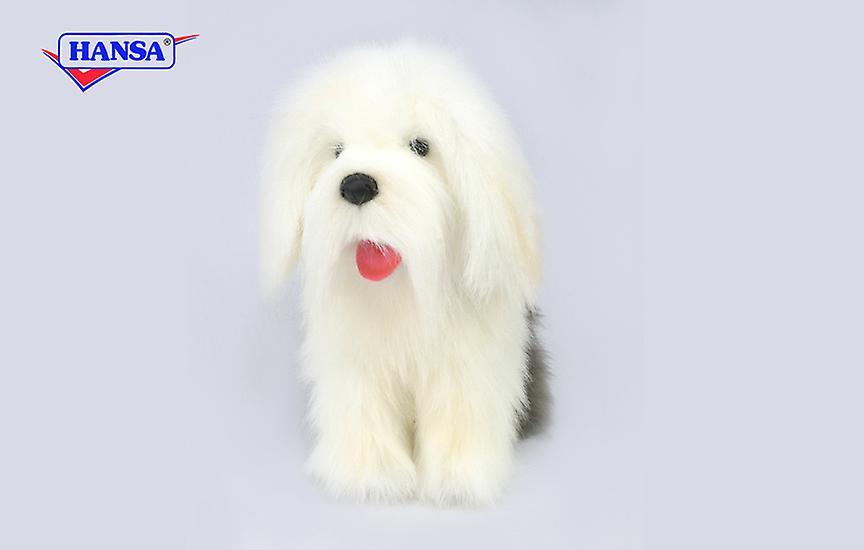 Hansa Knuffel Pluche Bobtail Hond