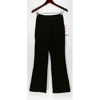 Femmes avec le contrôle Petite Contour Waist Pull On Pants Green A219289