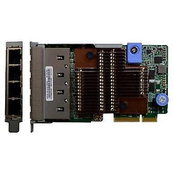 Lenovo x722 network card/pci express interface adapter 4 port rj-45 10/100/1000 mbps lan