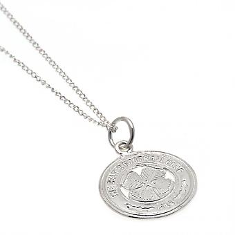 Celtic FC Sterling Silver Pendant And Chain