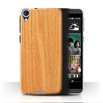 STUFF4 Case/Cover for HTC Desire 820s Dual/Pine/Wood Grain Pattern