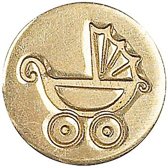 Decorative Seal Coin Pram Baby Carriage 727Prm