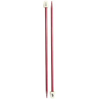 Silvalume Single Point Knitting Needles 14