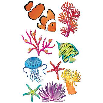 Jolee's Boutique Le Grande Dimensional Sticker Sea Anemone E5050081