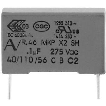 MKP suppression capacitor Radial lead 1.5 µF 275 V 20 % 27.5 mm (L x W x H) 32 x 13 x 22 Kemet R46KR415045M1K+ 1 pc(s)